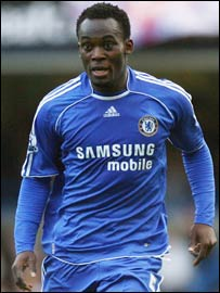 Ghana and Chelsea's Michael Essien