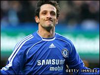 Chelsea goalscorer Juliano Belletti