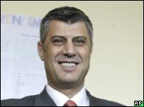 Hashim Thaci en noviembre 2007