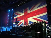 Members of the Liverpool Welsh Choir