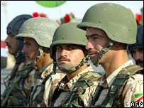 Soldiers in Iraqi army