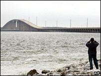 Dauphin Island Bridge, Alabama