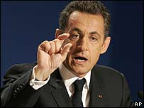 Nicolas Sarkozy (8 January)