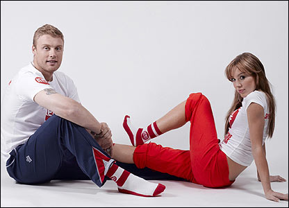 Andrew and Rachel Flintoff support Sport Relief