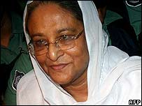 Sheikh Hasina in a file photo from July 2006