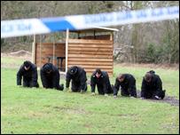 Police search Broomhills Shooting Club