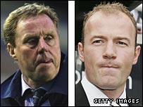 Harry Redknapp (left) and Alan Shearer