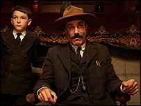 Daniel Day Lewis was named best actor for There Will Be Blood