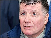 New Glenavon manager Terry Cochrane