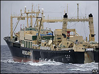 Japanese processing ship Nisshin Maru (file image)
