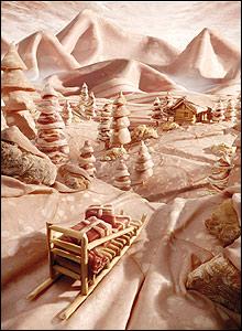 Salami snow