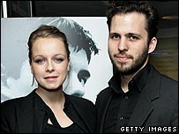 Samantha Morton with partner Harry Holm