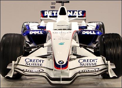 BMW Sauber's F1.08