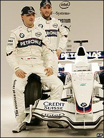 Nick Heidfeld (right) and Robert Kubica will again drive for BMW