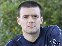 Falkirk midfielder Steven Thomson