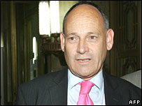 Sir Tony Brenton leaves Russia's foreign ministry in July 2007