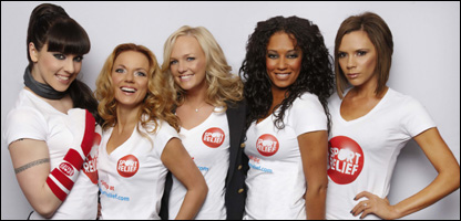 The Spice Girls launch Sport Relief 2008