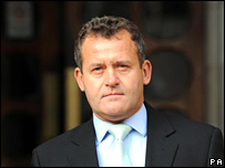 Paul Burrell outside the High Court