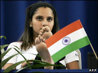 Sania Mirza in the controversial photo