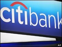 Logo de Citibank, la principal compañía de Citigroup