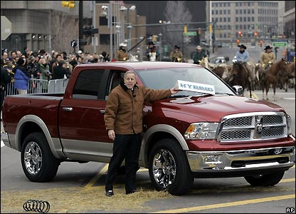 Cowboys and steers help launch the Dodge Ram