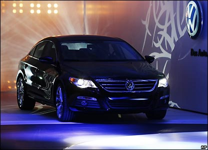 The Volkswagen Passat CC