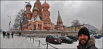 Ed Leigh takes in the splendour of Moscow's architecture