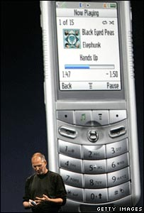 Apple's iTunes phone