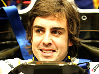 Fernando Alonso (photo by Renault team)
