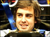 Fernando Alonso (photo by Renault team)