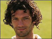 Nottinghamshire bowler Charlie Shreck