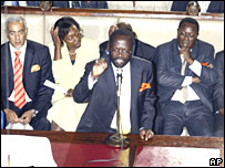 Opposition MP (C) IN Kenya parliament