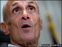US Homeland Security Michael Chertoff