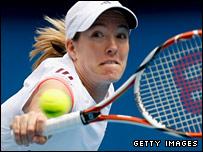 Top seed Justine Henin