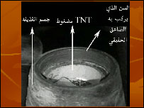 Example of a webpage produced by Tsouli
