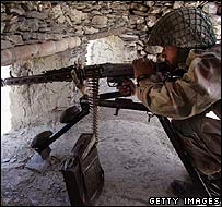 Soldier in South Waziristan
