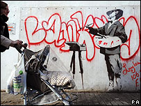 Banksy mural that sold this week on eBay