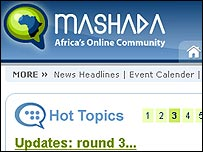 Screen grab from Mashada.com [http://www.mashada.com/]