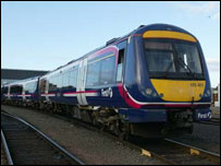 First Scotrail train similar to the one involved