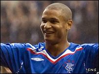 Rangers striker Daniel Cousin