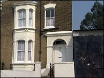 Hamid's home in East London