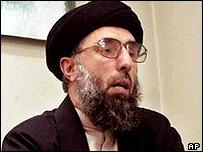 Gulbuddin Hekmatyar. File picture