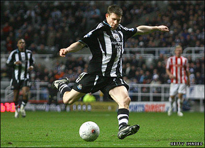 James Milner scores Newcastle's third