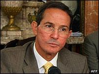 Fernando Araujo, canciller de Colombia (foto archivo)