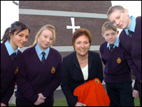 Catherine Britton and Blessed Edward Jones pupils