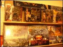 Objetos de recuerdo de Iron Maiden
