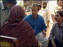 Ben Brown in Pakistan