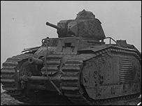World War II tank
