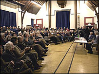 Public at meeting in St Boswells