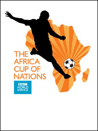 The BBC Africa Cup of Nations logo
